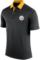 Nike Men's Pittsburgh Steelers Elite Coaches Polo