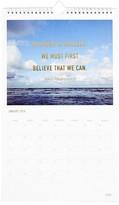 Kikki.k Inspiration Wall Calendar - Blue