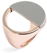 Topshop Women's Half Circle Ring