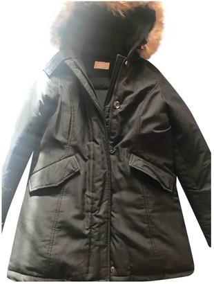 Gas Jeans Black Coat for Women