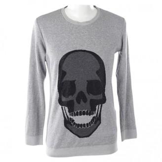 Philipp Plein Grey Wool Knitwear for Women