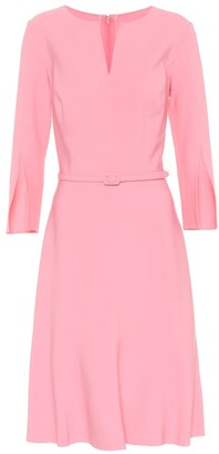 Oscar de la Renta Stretch wool dress