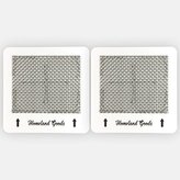 2 Ozone Plates for Alpine Ecoquest Living Air Purifiers by Homeland Goods
