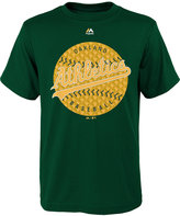 Majestic Boys' Oakland Athletics Electric Ball T-Shirt