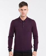 Ted Baker Waywin Merion Long Sleeve Polo Shirt