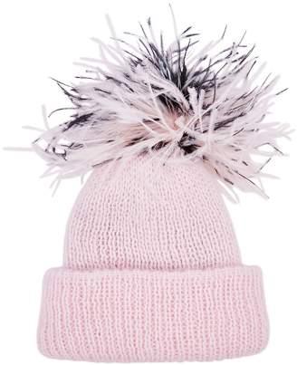 Eugenia Kim Maddox Light Pink Angora-blend Beanie
