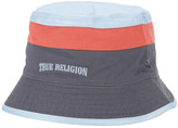 True Religion Reversible Colorblock Bucket Hat
