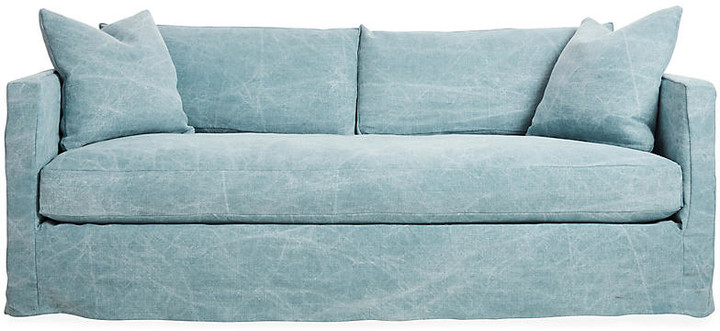 Shaw Slipcover Sofa - Chambray Linen
