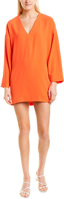 IRO Supple V-Neck Mini Dress