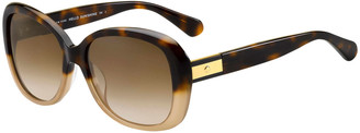 Kate Spade Judyann Polarized Butterfly Sunglasses