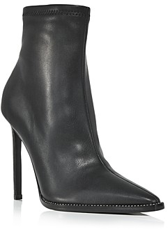 Aqua Women's Valry Snip Toe Stretch High Heel Booties - 100% Exclusive