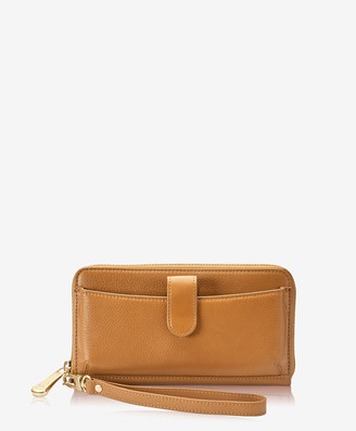 GiGi New York City Wallet, Camel Napa Luxe