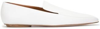 Rosetta Getty Slip-On Square-Toe Loafers