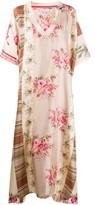Pierre Louis Mascia Floral Print Kaftan Dress