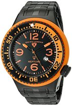 Swiss Legend Men's 'Neptune Force' Swiss Quartz Stainless Steel Casual Watch (Model: 21819P-BB-11-OBS)