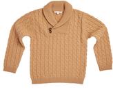 Marie Chantal Shawl Neck Cashmere Sweater