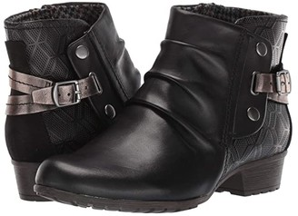 Cobb Hill Gratasha Hardware Boot (Black) Women's Shoes