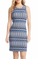 Karen Kane Women's Jacquard Sheath Dress