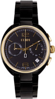 Fendi Black & Gold Momento Watch