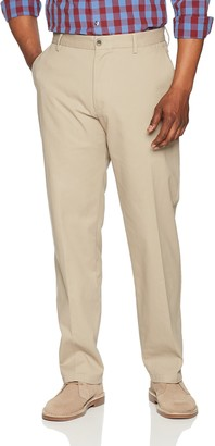 Amazon Essentials Classic-Fit Wrinkle-Resistant Flat-Front Chino Pant Beige (Khaki) W38/L32