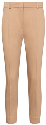 Max Mara Calcut slim cropped cotton pants