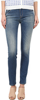 Armani Jeans Vintage Wash Mid Rise Jean in Indigo Women's Jeans