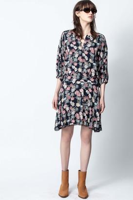 Zadig & Voltaire Raspali Print Flowers Dress