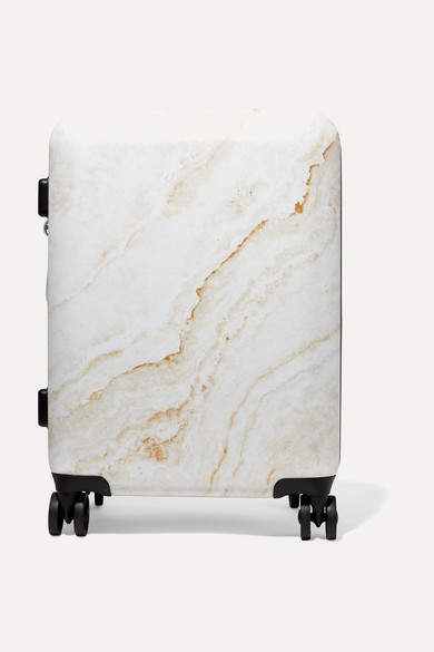 a757a709dbe7 Metallic Marbled Hardshell Suitcase - Gold