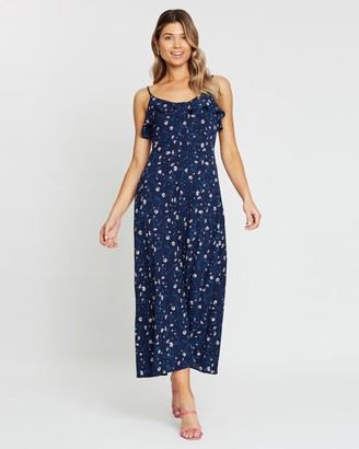 Atmos & Here Stella Floral Maxi Dress