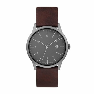 CHPO Unisex's Analogue Analog Quartz Watch with Resin Strap 14234TT