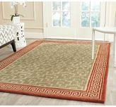 Martha Stewart Byzantium Sealing Wax Wool Rug (4'x 6')