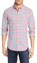 Bonobos Men's Slim Fit Washed Check Sport Shirt