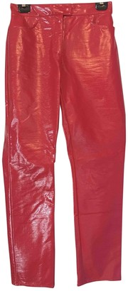Monki Red Trousers for Women