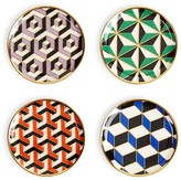 Jonathan Adler Versailles Coasters, Set of 4