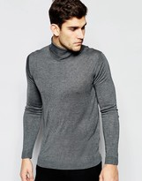 United Colors Of Benetton United Colours Of Benetton Silk Blend Roll Neck Jumper