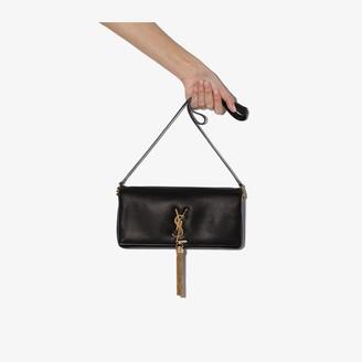 Saint Laurent black Kate 99 leather shoulder bag