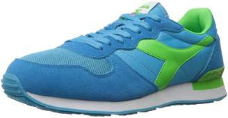 Diadora Men's Camaro Athletic Cyan Blue/Green Fluorescent 11 M US