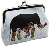ABC Womens Wallet, Womens Elephant Wallet Coin Purse Card Holder Clutch Handbag