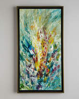 "John-Richard Collection Gladiolus"" Jinlu Original Oil Painting"