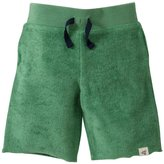 Burt's Bees Baby Solid Board Shorts (Baby) - Grass-6-9 Months