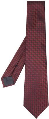 Emporio Armani Chevron Pattern Tie
