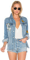 Lovers + Friends x REVOLVE James Denim Jacket. - size L (also in M,S,XS)