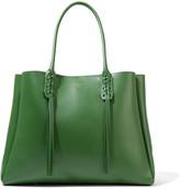 Lanvin The Shopper Small Leather Tote - Green