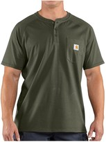 Carhartt Force® Henley Shirt - Relaxed Fit, Short Sleeve (For Big and Tall Men)