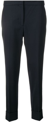 Pt01 cropped tailored trousers