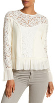 Plenty by Tracy Reese Lace Cutout Blouse