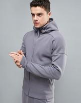 Adidas Zne Hoodie In Grey Bp8471