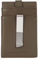 Want Les Essentiels Kennedy Dark Olive Leather Card Holder