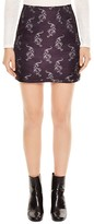 Sandro Afterday Printed Skirt