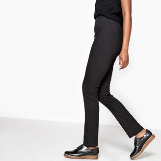 """La Redoute Collections Slim-Fit High-Waisted Trousers. Length: 29.5"""""""
